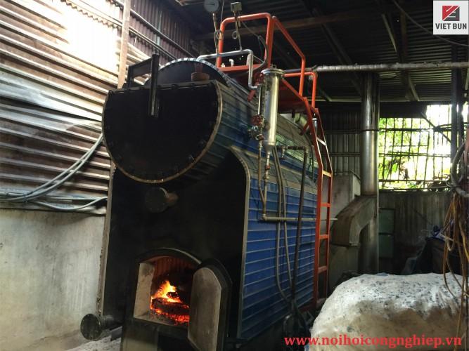 Lò hơi đốt củi 1000 kg/h