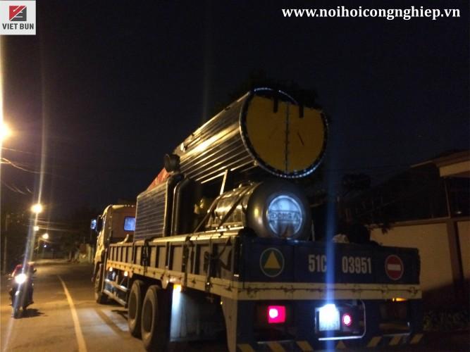 Lò hơi đốt củi 3000 kg/h